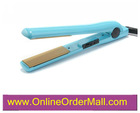 LCD digital ceramic hair straightening flat iron