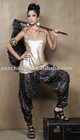 8TR031New! Silk Printed Trouser