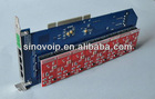 Industrial 8 Port fxs fxo voip card Asterisk PCI Card
