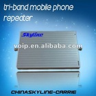 Hot sale!! tri band cell phone mobile signal repeater/booster/amplifier antenna signal booster