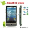 "Android 2.2 OS CPU 416MHz GPS WIFI TV Dual SIM Mobile phone with 3.5"" big touch screen"