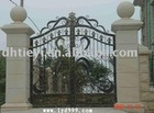 ornament iron gate