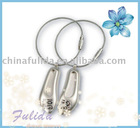 Shoe Shaped Metal Key Chain FLD-K10110509