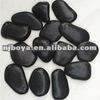 black bath mat stone