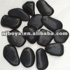 black bath mat stone