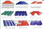 Galvanized corrugated steel roofing sheet SGCC