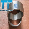 Gr2 titanium forged ring with ASTM B381 and polished surface