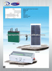 120w solar system,easy to carry ,family size ,reliable solar power conversion