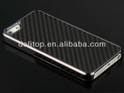 Premium Carbon Fibre Chrome Case for iPhone 5