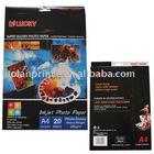 120gsm Adhesive High Glossy Inkjet Paper