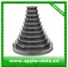 Wire drawing ceramic coated cone pulley, step pulley for wire cable making machine