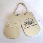 Fashion dog tag ( tag key chain )