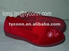 woman pvc indoor slipper