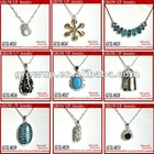 2012 wholesale 925 silver necklaces for gifts