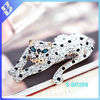 Diamond beauty Leopard brooches temperament and generous Europe and PIN custom brooches
