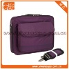 17 inch Purple Notebook Laptop Shoulder Messenger Bag Carry on Briefcase
