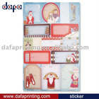 Holiday Adhesive Gift Tag Labels(tag card & greeting cards tag)