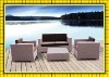 factory sale low price good qulity wicker rattan patio furniture set SCSF-068