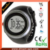 Hot selling professional GPS watch with heart rate monitor ,pulse ,stopwatch ,calories count ,PC download (DPO)