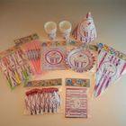 Promotional and hot selling happy birthday cake party favors and party supplies for kids