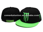 fashion snapback hat with embroidery logo