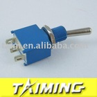 Toggle switch MTS-102 blue