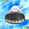 5 LED handCrank flash light