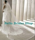 2013 Latest Beautiful Bridal Veil And Crown