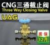 ( cng kits, lpg kits,convertion kits)CNG Three way closing valve