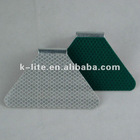 Doubel sided guardrail safety reflectors