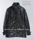 ladies quilted polyester coat