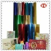 Hot stamping foil for greeting card/wedding card/New Year card/Christmas card