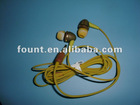 Biodegradable Stereo Wood Earphone