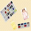2x2 polyester/rayon rib fabric, fabric for clothing