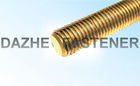 brass thread rod Din975