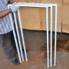 Bended and welded steel frame