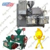 Olive oil making machine with filter