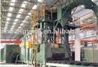 Q6920 pass through shot blasting machinery