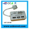 usb hub with card reader for iPad