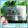 Beautiful Standard Size Metal Business Card