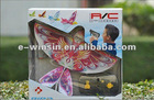 2012 New RC Flying Bird ,Radio Control Flying Bird with Gun,LED Light,Sound,360 degrees Flying.