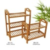 Rem removable bamboo shoe rack, bamboo furniture
