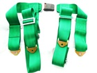 TAKAT Green Color Buckle Car Safety Belts Harness