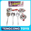 TC Electroplate Emulational Cooking Play Set,Kitchen Toys set