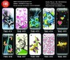 TPU case for iPhone5 flowers