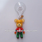 Popobe plastic toy bear auto window hanging ornaments