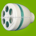 PBT cfl plastic parts for 3U shape energy saving lamp