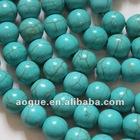 round turquoise beads