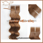 Tape wefted hair extension