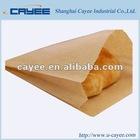Brown kraft paper bread bag
